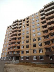 вид 3-го дома со стороны г. Ильичевск